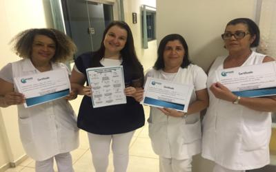 Capacitação de Lavagens de Mãos e Uso de Luvas para Enfermagem de Mirante do Paranapanema